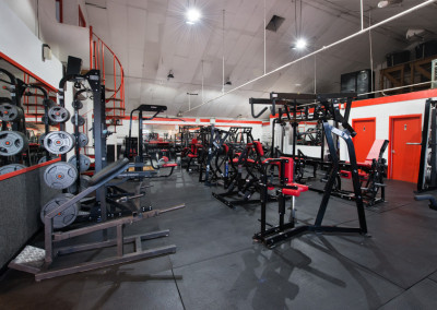 Gym at Titans/The Club