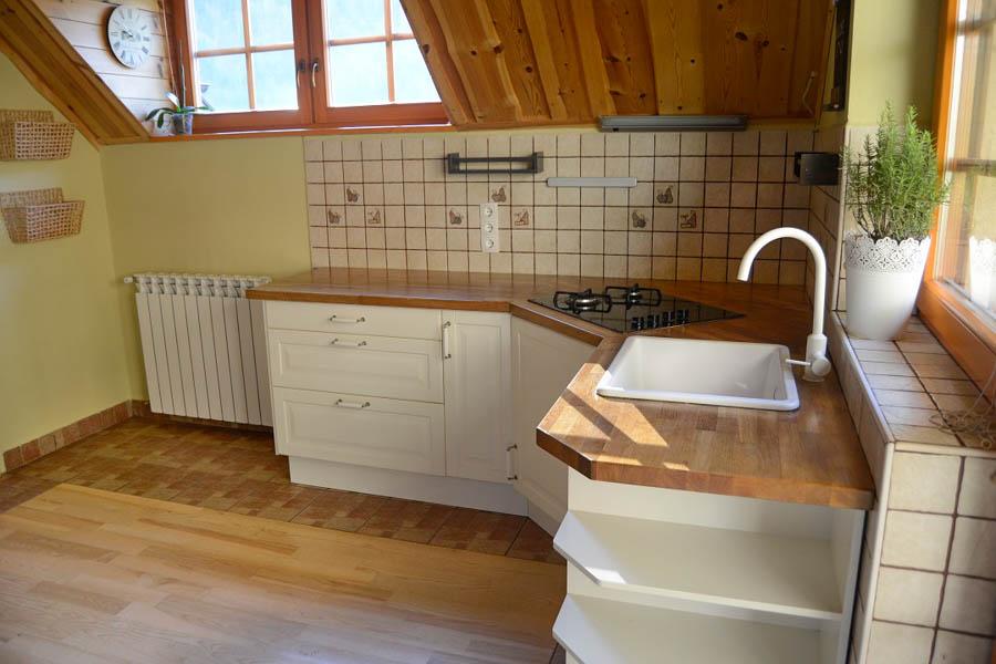 Alpine style apartment