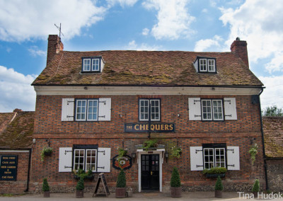 The Chequers Fingest front