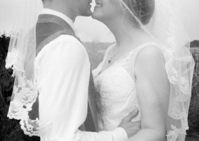 Stolen kiss under the veil