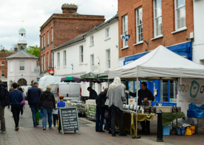 Market on the High street