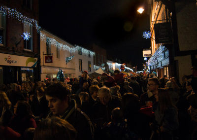 Christmas lights Godalming