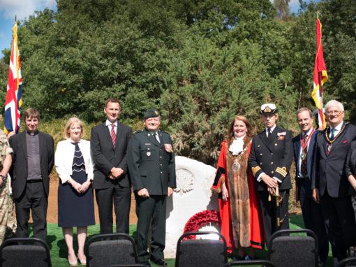 Canadian War Memorial in Milford, Surrey